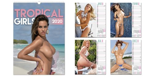 Tropical Girls kalender